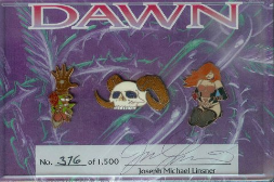 Cry for Dawn PinSet Signed