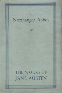 Northanger Abbey 1923