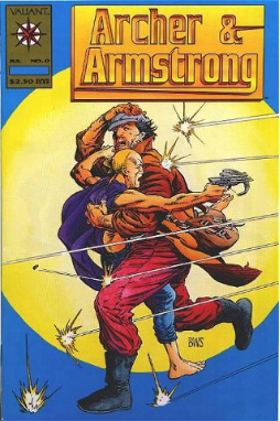 Archer and Armstrong #0 Gold