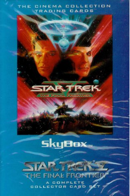 Star Trek V Card Set