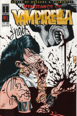 Vengeance of Vampirella #1 Gold