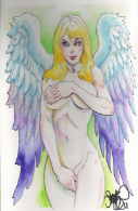 Innocent Angel Painting