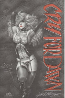 Cry For Dawn Promo Poster Signed