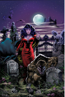 Gothic Nights Cover Print