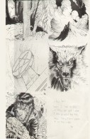 Weird Tales Illustrated Interior Art
