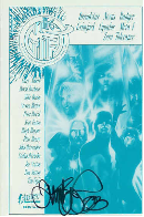 The Gift Postcard Signed