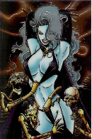 Lady Death Chromium Card Set #2