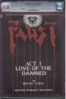 Faust: Love of the Damned Act 1 Tourbook CGC