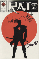 Rai #0 Signed by Shooter, Layton and Lapham